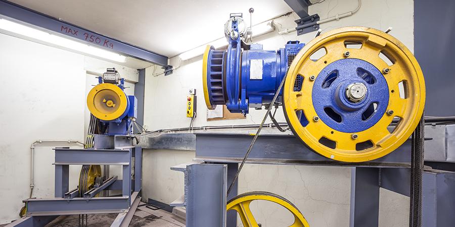 Aufzugsmotor Aufzugtechnik Marchetti